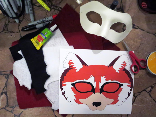 d1692f1fa24 20+ Felt Panda Mask Pictures and Ideas on STEM Education Caucus