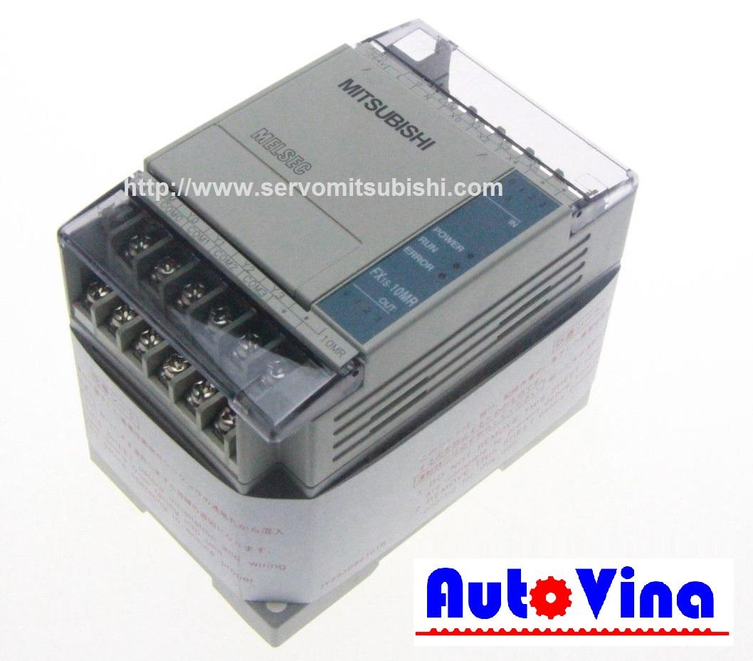 Đại lý bán PLC PLC Mitsubishi FX1S-10MR, nhà phân phối thiết bị Servo, PLC hãng Mitsubishi
