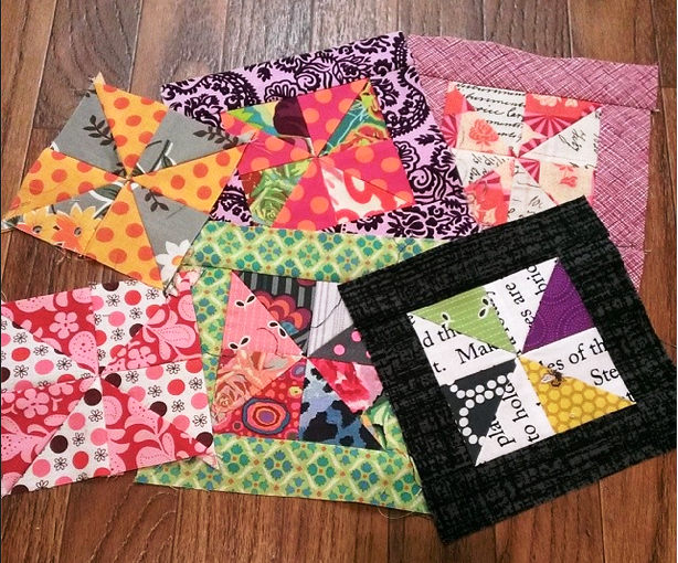 Gypsy Wife Pinwheel Blocks