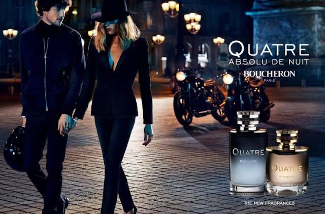 Reklama perfum Boucheron Quatre Absolu de Nuit Pour Femme