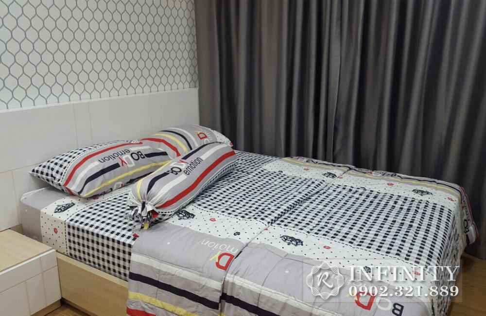 Căn hộ cho thuê Q5 Everrich Infinity - giường ngủ phòng 1