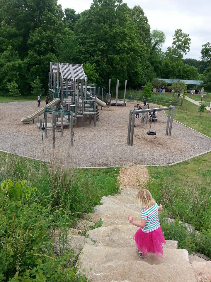 Outdoor Baby Swing >> Play St. Louis: Indian Camp Creek Park, Foristell