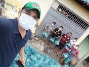 Poção de Pedras(MA): Pinto Catingueiro doa ajuda no combate ao coronavírus