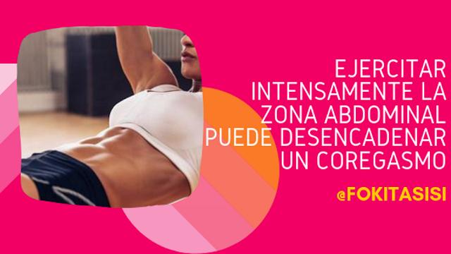 (Imagen) ¡Unir placer sexual y ejercicios es posible! la clave está en entrenar los abdominales intensamente (para tener un abdorgasmo)