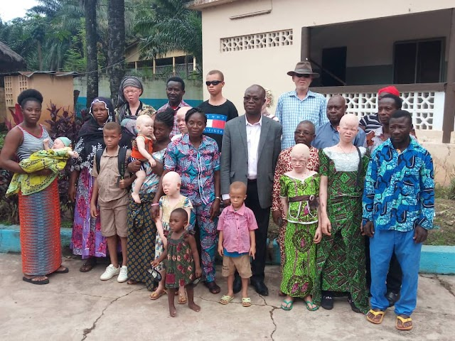 La population d'Atakpamé sensibilisée sur l'albinisme