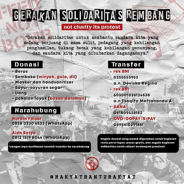 Gerakan Solidaritas Kabupaten Rembang