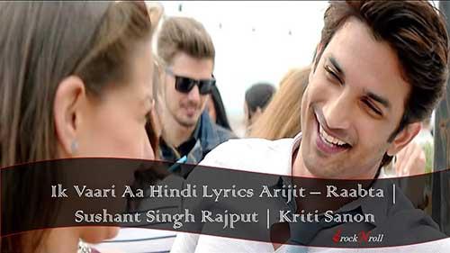 Ik-Vaari-Aa-Hindi-Lyrics-Arijit-Raabta