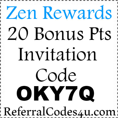 Zen Rewards App Referral Code, Invite Code, Reviews & Hacks 2018-2019