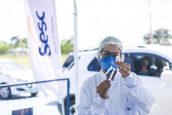Sesc-DF auxiliará governo com pontos de vacinação neste final de semana no Taguaparque, em Ceilândia e na Torre de TV