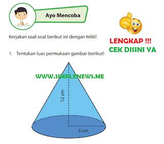 Kunci Jawaban Buku Senang Belajar Matematika Kelas 6 Halaman 121, 122, www.simplenews.me