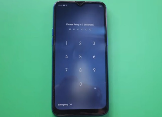 Realme C2 RMX1941 Remove Screen Lock Pattern / Password With DownloadTools Via Online Remotely