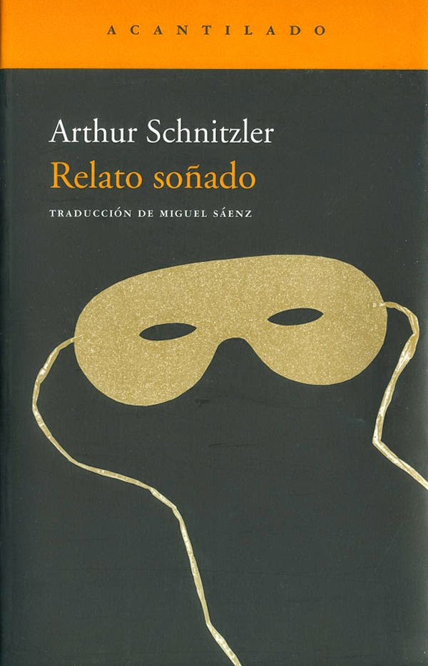 Portada de Relato soñado de Arthur Schnitzler