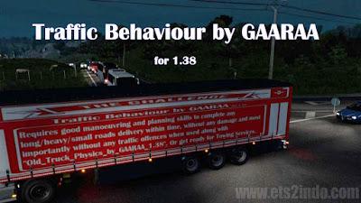 Traffic Behaviour by GAARAA untuk 1.38