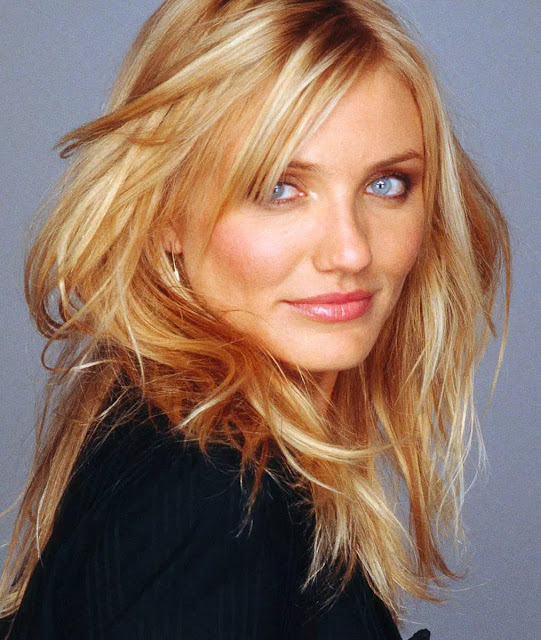 Cameron Diaz Light Brunette Hairstyle With Layers