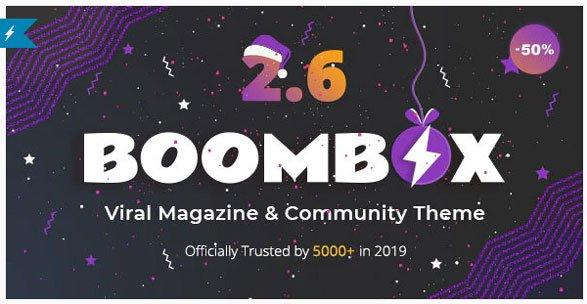 قالب BoomBox