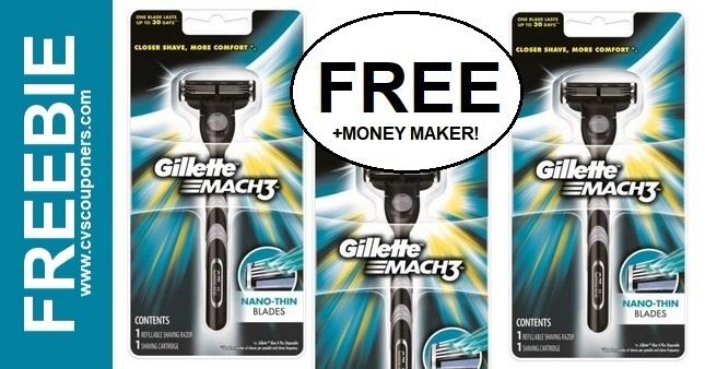 CVS MONEY MAKER Gillette Razor Deal 12-20-12-26
