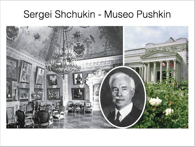 SERGÉI SHCHUKIN museo pushkin