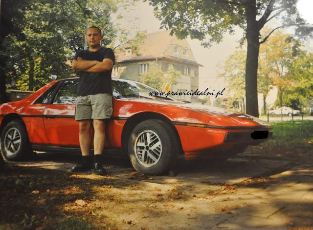 NASZE 7 PIERWSZYCH AUT #Pontiac Fiero