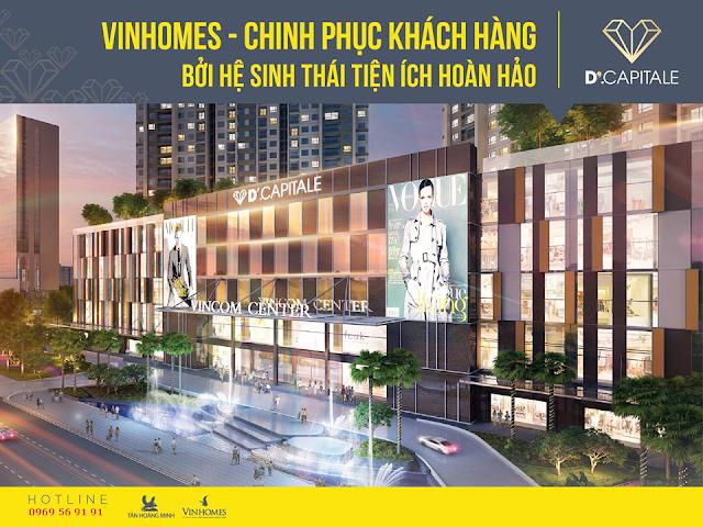 Trung tâm thương mại Vinhomes Trần Duy Hưng