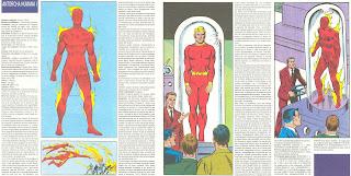 Antorcha Humana Ficha Marvel Superheroes