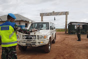 Satgas Konga XXXIX-B Terapkan Social Distancing dan Physical Distancing di Daerah Misi