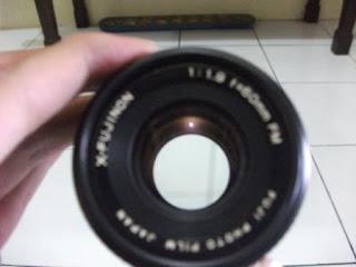 X-Fujinon 50mm f/1.9 tampak depan