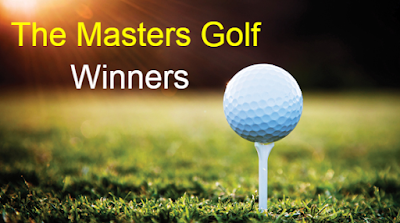 The Masters, us masters, masters Golf, Tournament, Winners,Champions, list.