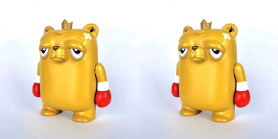 "The Bearchamp OG Edition 4"" Vinyl Figure by JC Rivera"
