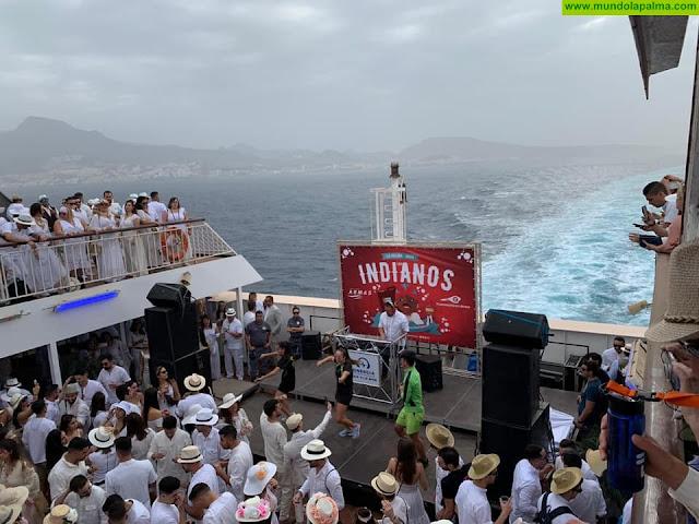 Más de ocho mil personas viajan desde el viernes con Naviera Armas a La Palma para la Fiesta de los Indianos