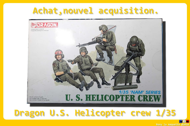 U.S. Helicopter crew, dragon, 1/35.