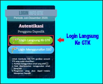 info gtk login