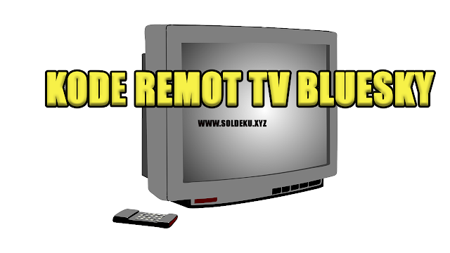Kode Remot tv Bluesky