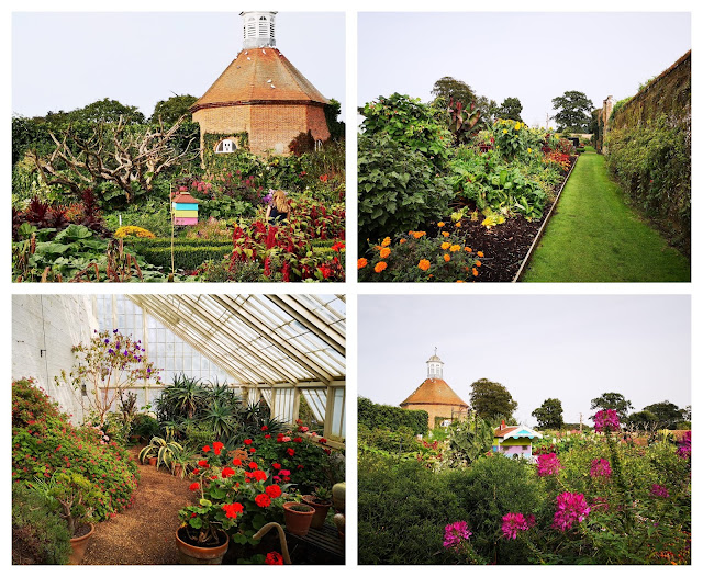 Kitchen garden at Felbrigg Hall