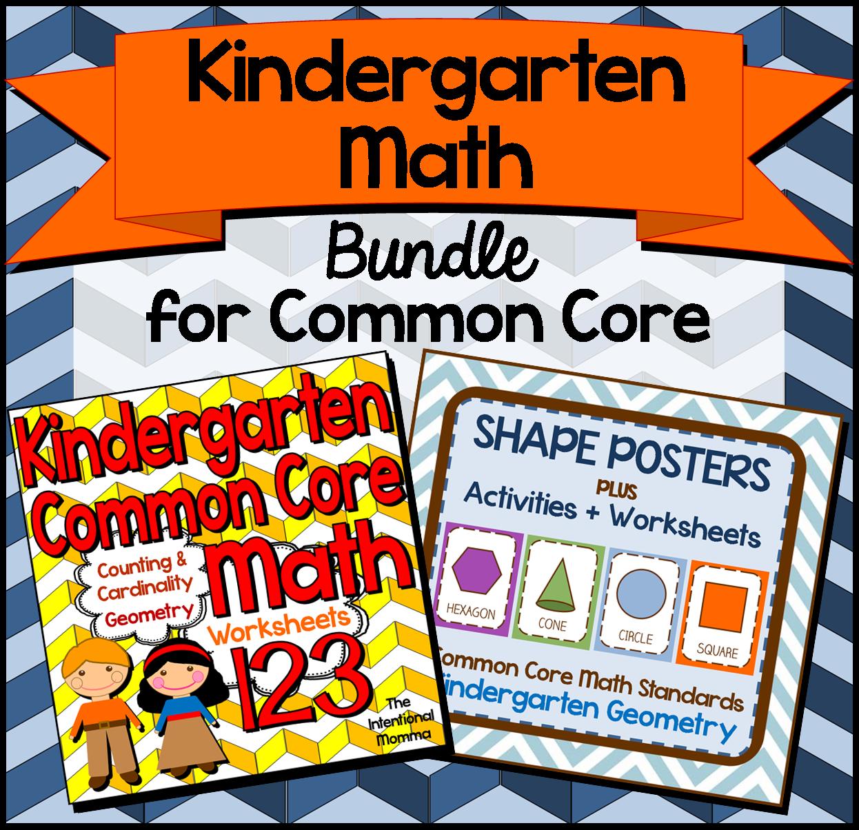 The Best Of Teacher Entrepreneurs Iii Bestselling Kindergarten Geometry Packs