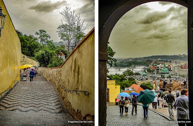 Caminho da Muralha, Castelo de Praga