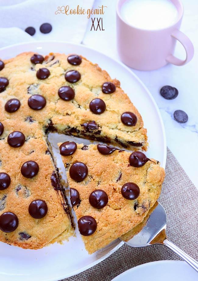 cookie xxl recette