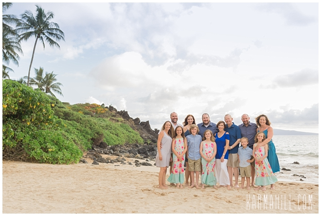 Maui Vacation Family Portraits