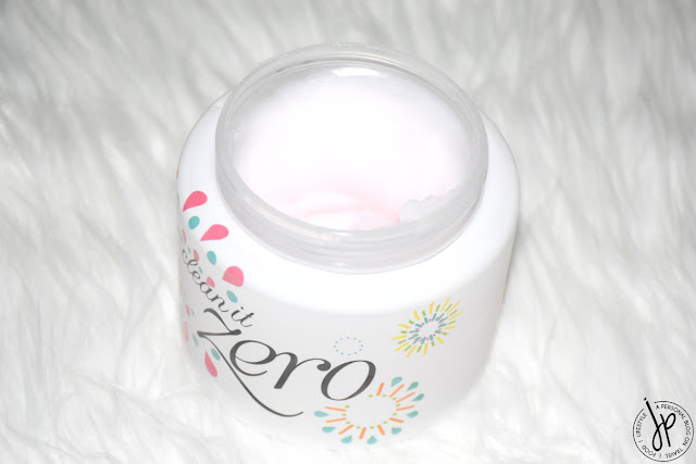 clean it zero sherbet type cleansing balm