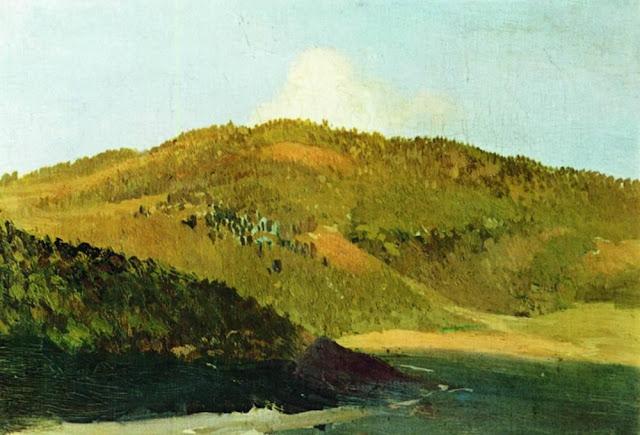 Исаак Ильич Левитан - На вершинах Яйлы. 1886