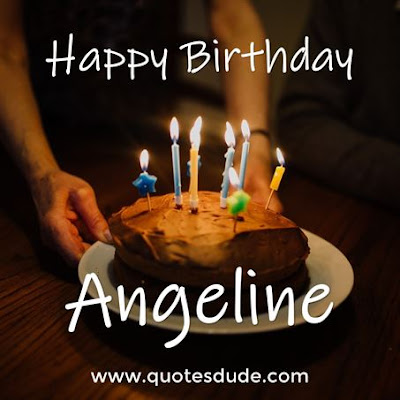 Happy Belated Birthday Angeline.