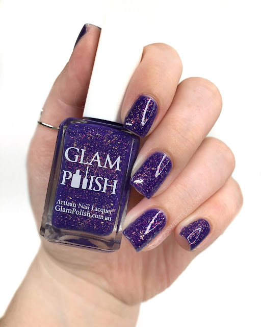 Glam Polish You Give Love A Bad Name 25 Sweetpeas