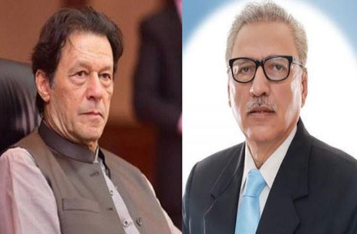 Terve rahvas, kes seisab koos Kashmiri vendadega, korrake president Alvi ja peaminister Imrani