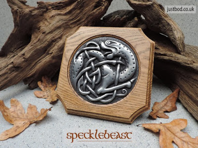 Celtic Wall Plaque Specklebeast from Justbod