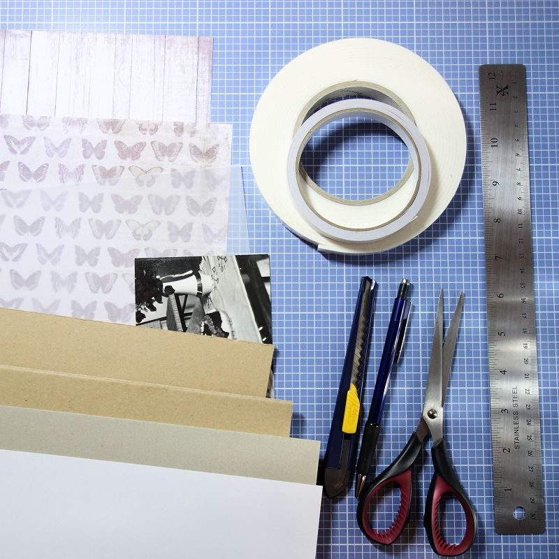 Bilderrahmen-Fotorahmen-selber-machen-mit-Anleitung-Wellpappe-Upcyclingideen