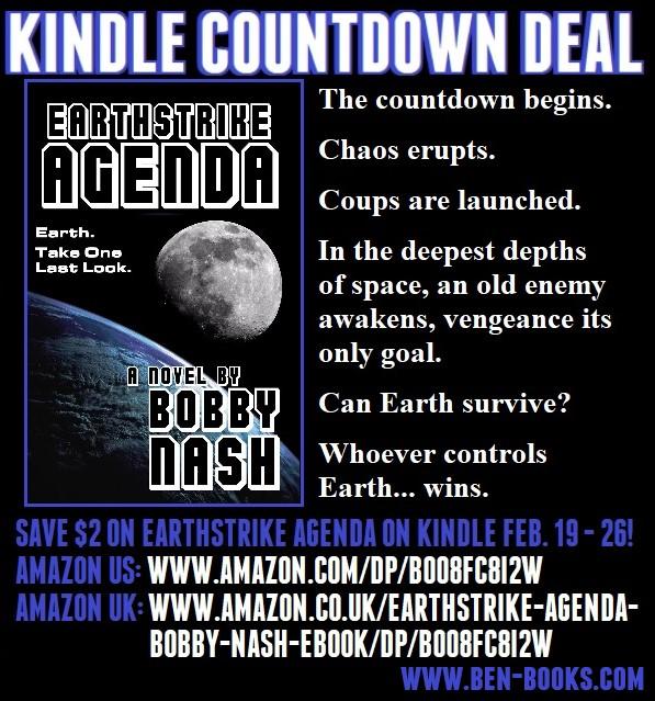 BEN Books: Kindle Countdown Sale-- Earthstrike Agenda ebook