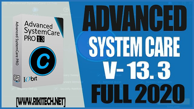 Iobit Advanced SystemCare 13.3