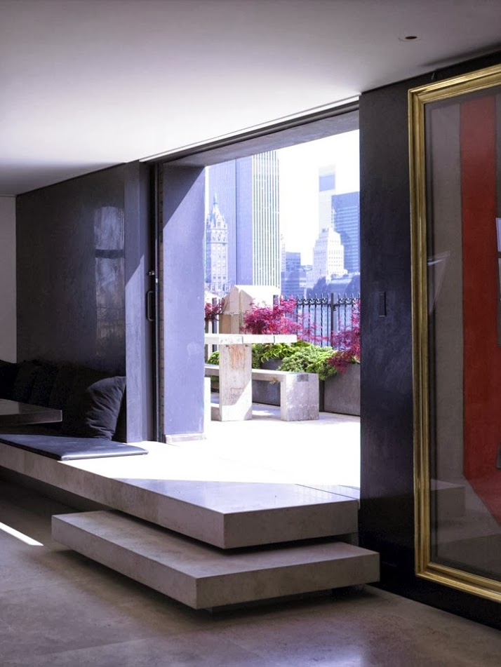 Interiors Donna Karan S Apartment In Manhattan Cool Chic Style To Dress Italian