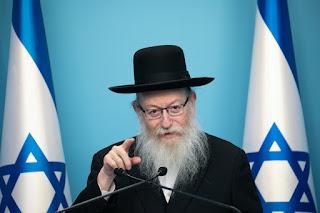 Ministro de Israel  está positivo com  coronavírus