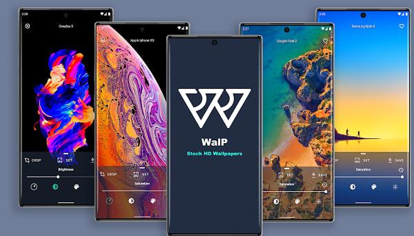 تطبيق WalP لتنزيل خلفيات الهواتف المشهورة 2021