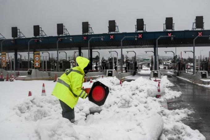 Πολικό ψύχος έφερε η Μήδεια: Στους μείον 25 βαθμούς έπεσε η θερμοκρασία